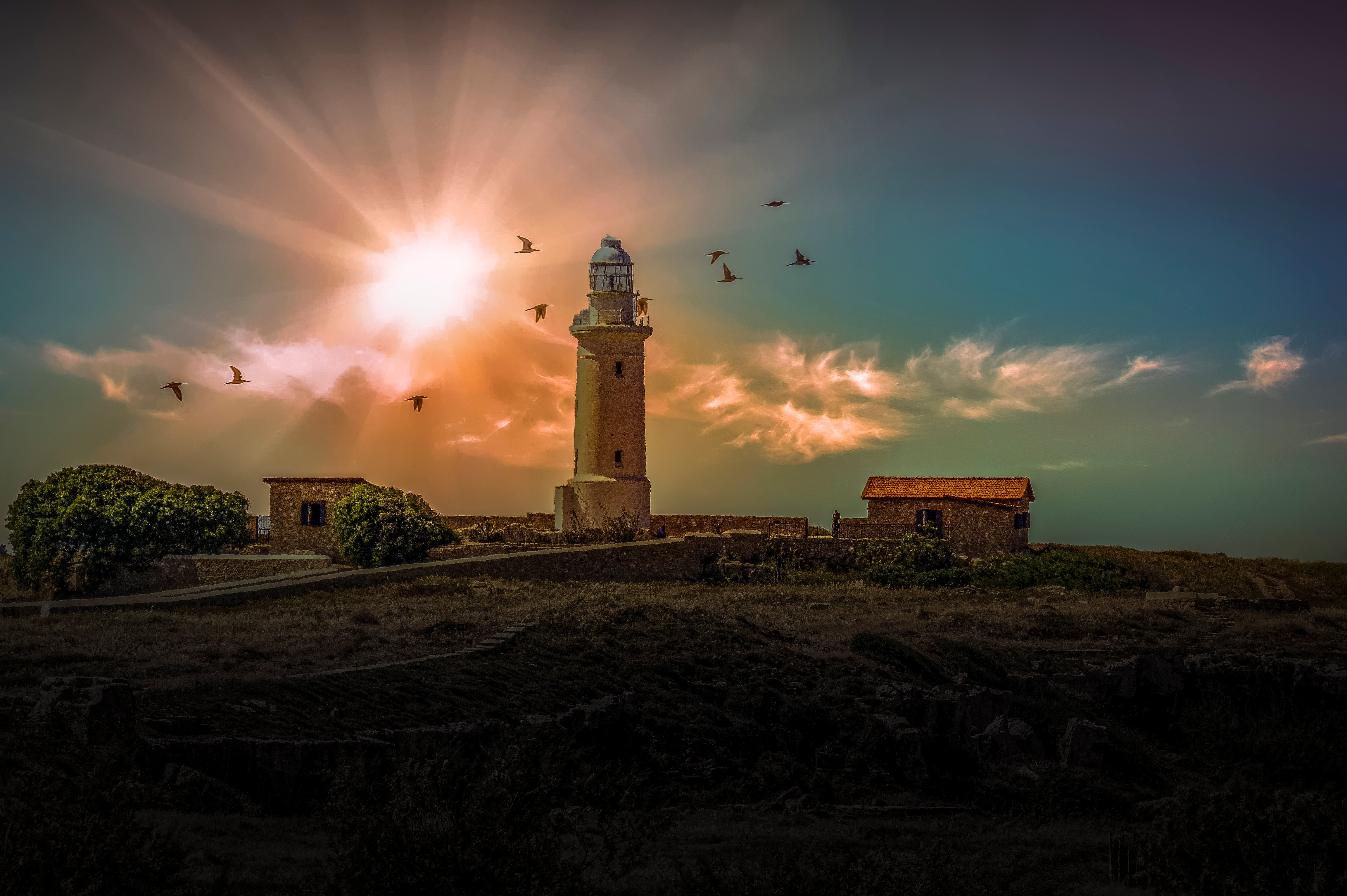 Cyprus lighthouse in Paphos - image 003